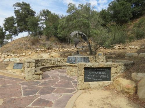 Terrace of Remembrance Veterans Walk Elings Park hike trail Santa Barbara