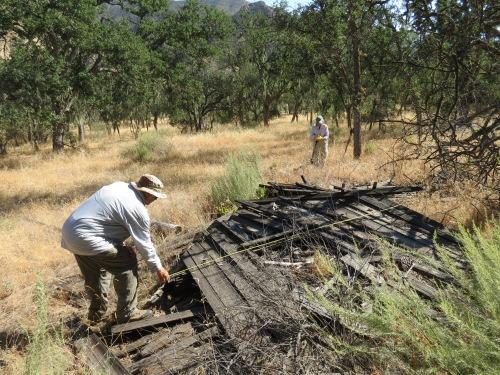 Sisquoc Guard Station San Rafael Wilderness Los Padres National Forest Jim Blakley Joan Brandoff archeology survey