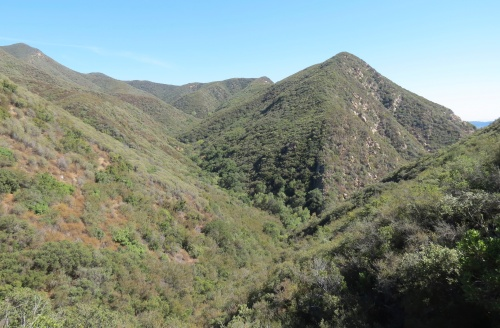 Stewart Canyon Valley View Camp Pratt Trail hike ojai Los Padres National Forest Nordhoff Ridge