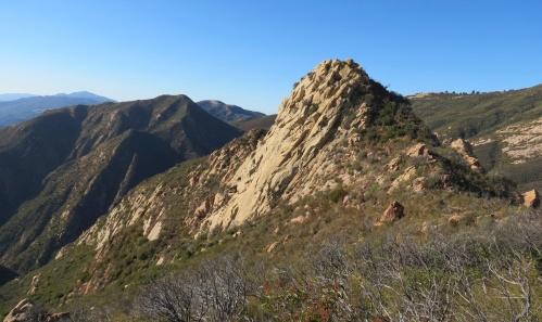 Cathedral Peak Arlington La Cumbre trail hike Santa Barbara Los Padres National Forest