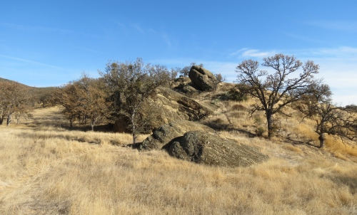 Gifford Ranch Trail hike cuyama Highway 166 conglomerate stone outcropping Los Padres National Forest