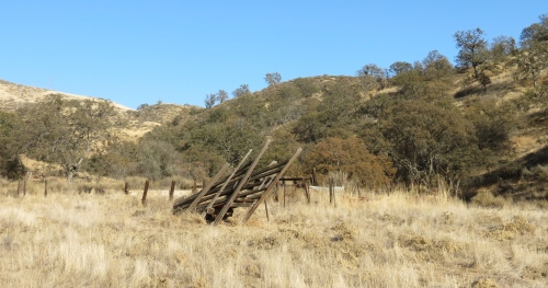 Gifford Ranch Trail cattle chute hike los padres national forest cuyama valley