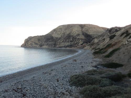 Yellow Banks hike Santa Cruz Island Channel Islands National Park