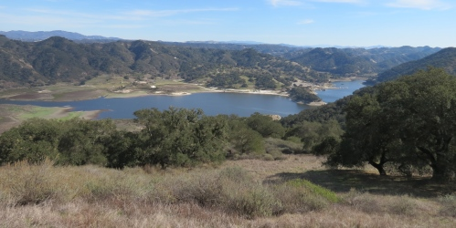 Lake Lopez Duna Vista Loop Trail hike