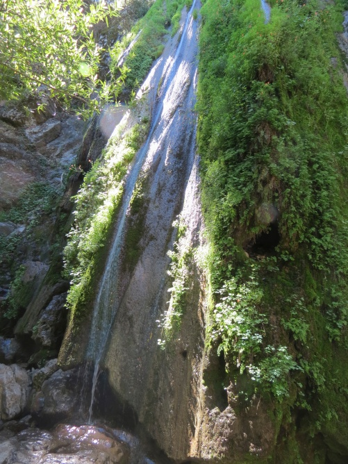 Rose Valley Falls trail ojai los padres nation forest