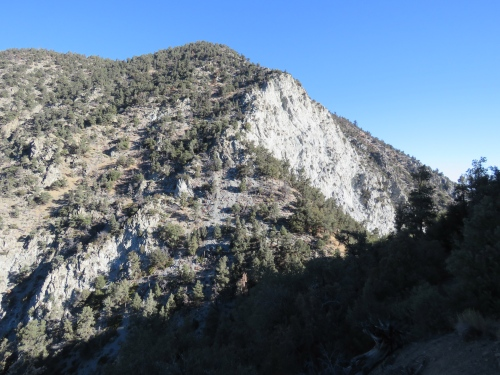 Antimony Peak San Emigdio Mountains jeep road trail hike los padres national forest