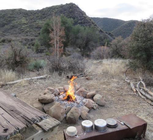 Backcountry gourmet menu ideas backpacking los padres national forest trail hacks campfire