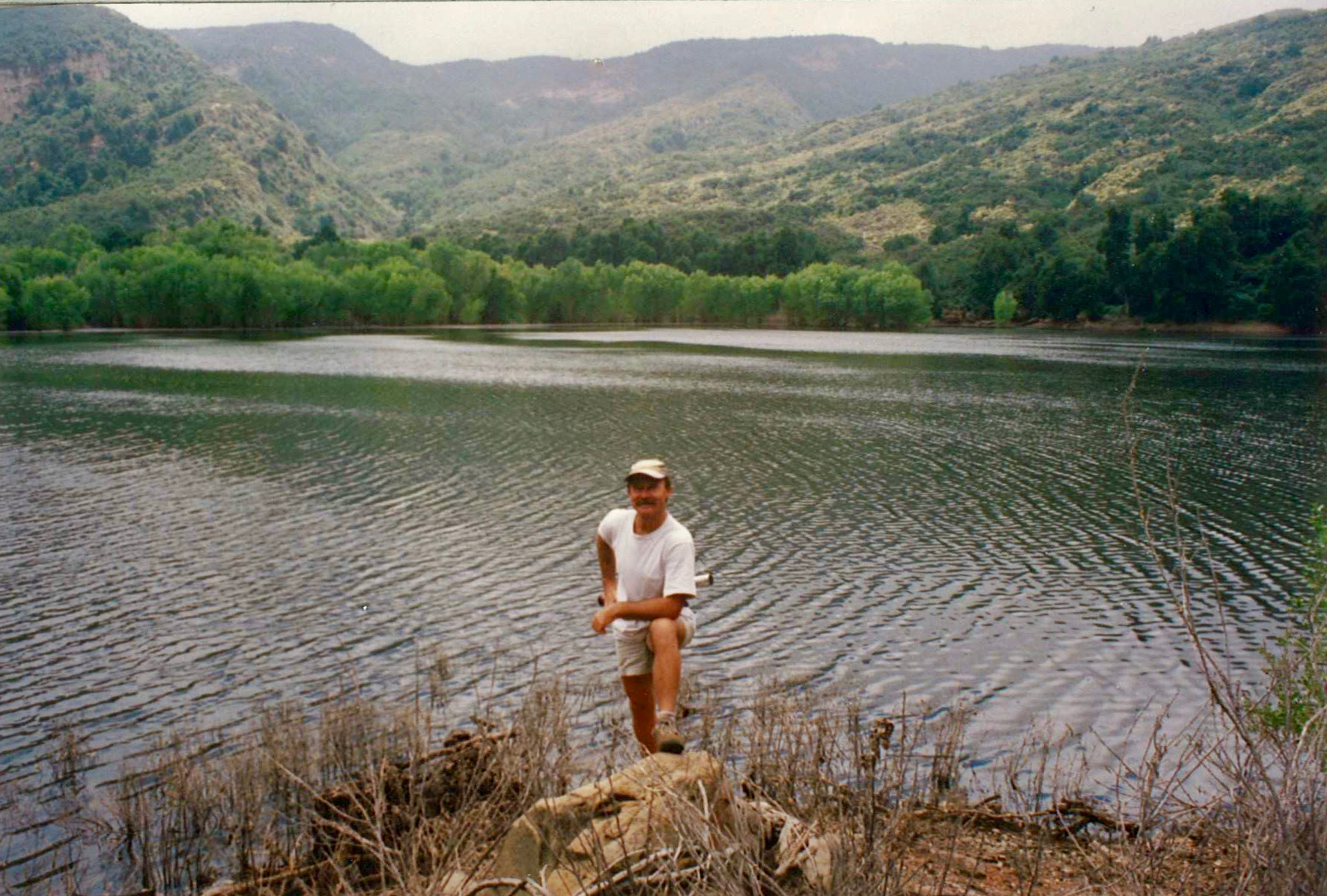 The pothole lake sespe wilderness los padres national forest