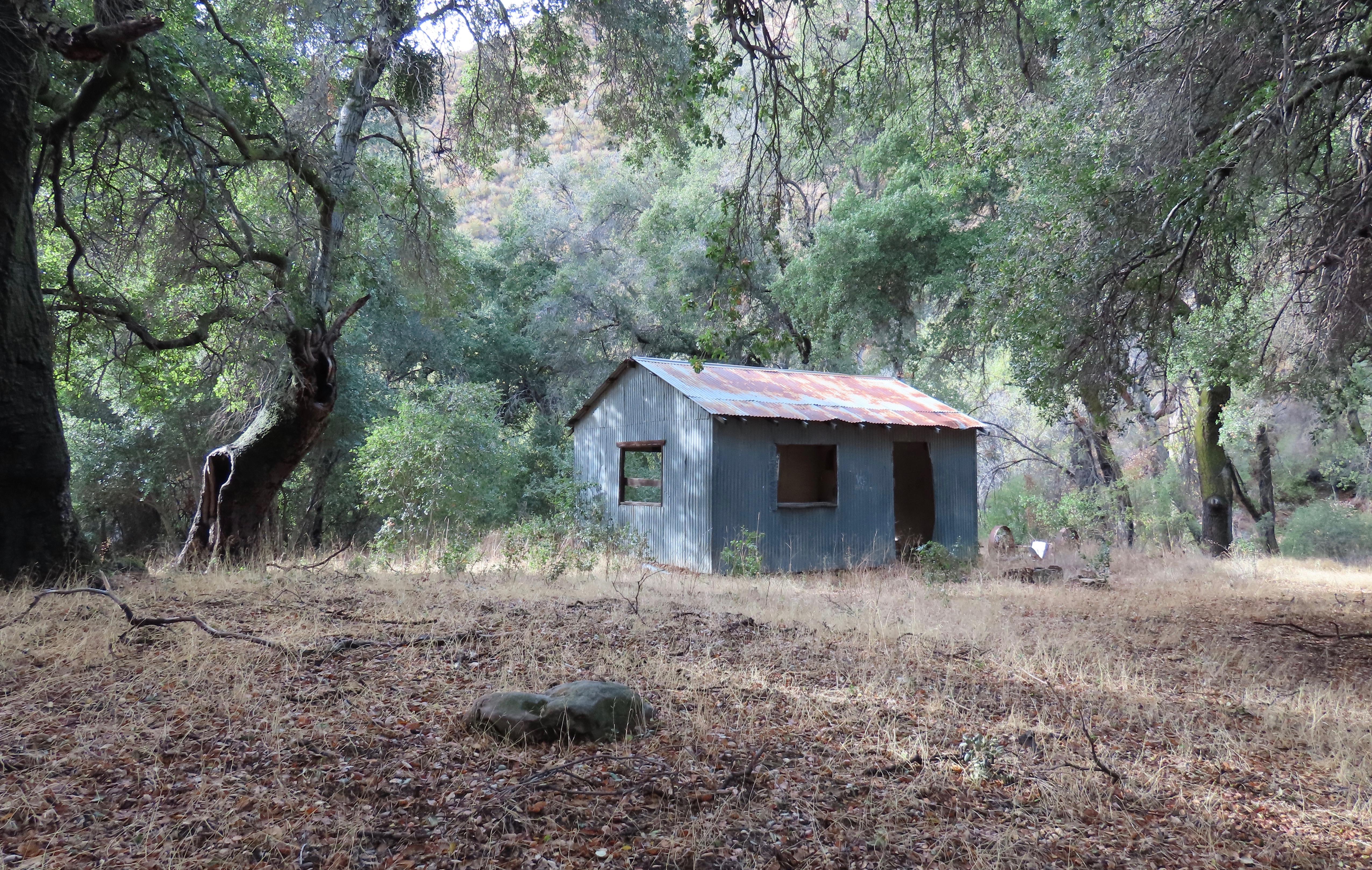 Whitaker Homestead Pothole Spring Sespe Wilderness Los Padres national forest