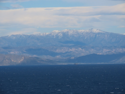 snow topatopa mountains santa cruz island